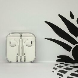 Наушники и Bluetooth-гарнитуры - Наушники Apple EarPods , 0