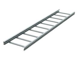 Кабеленесущие системы - LA1040ZL-Лестничный лоток 100х400, L6000, горяч., 0