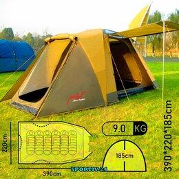 Палатки - 6-ти местная палатка для кэмпинга НЕДОРОГО, 0