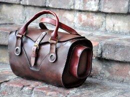 """Сумки - Кожаная женская сумка с элементами """"стимпанк""""…, 0"""