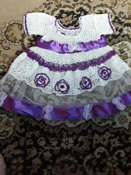 Платья и сарафаны - платья для девочек вязка крючком, 0