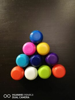 Игровые наборы и фигурки - Мячики и наклейки- большой футбол, пятерочка - 1шт, 0