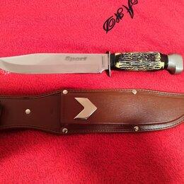 Ножи и мультитулы - Нож оригинал Tramontina sport большой в ножнах, 0