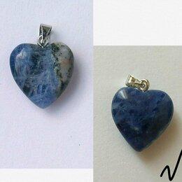 Кулоны и подвески - Подвеска Сердце натуральный камень новая, 0
