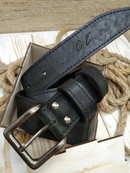 Ремни и пояса - Ремень кожаный мужской , 0