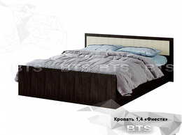 "Кровати - Кровать 2-х спальная 1,4м ""Фиеста"" , 0"