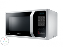 Микроволновые печи - Микроволновая печь Samsung MC28H5013AW с грилем…, 0