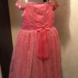 Платья и сарафаны - Новое праздничное платье на рост 128-134 смотри , 0