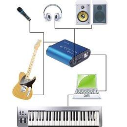 Оборудование для звукозаписывающих студий - Uteck Guitar Cube asio Аудиоинтерфейс, 0