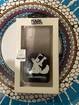Чехлы - Чехол Karl Lagerfeld Fun Choupette для iPhone X/XS, 0