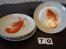 Тарелки - Тарелки закусочные «Раки» Япония TOATOKI, 0