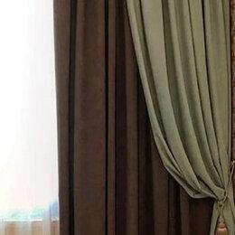 Шторы и карнизы - Комплект шторы и тюль новый в наличии и на заказ с доставкой, 0