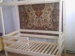 Кроватки - новая деревянная кроватка-домик, 0