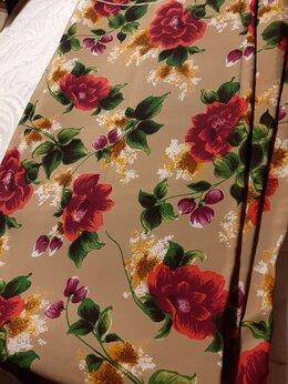 Ткани - Ткань шелковый поплин длина 405 см. шир. 93 см, 0