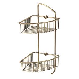 Полки, шкафчики, этажерки - Полка 180х200х420 Basket Veragio VR.GFT-9037.BR, 0