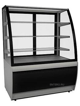 Холодильные витрины - Витрина кондитерская Carboma K70 VV 1,3-1 (ВХСв…, 0