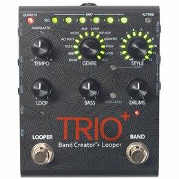 Процессоры и педали эффектов - Педаль Digitech Trio+ Band Creator + Looper, 0