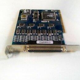 Прочие комплектующие - Контроллер C104H/PCI-Opt4D MOXA (без внешнего кабе, 0