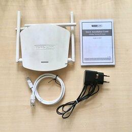 Проводные роутеры и коммутаторы - Wi-Fi роутер TotoLink N600R, 0