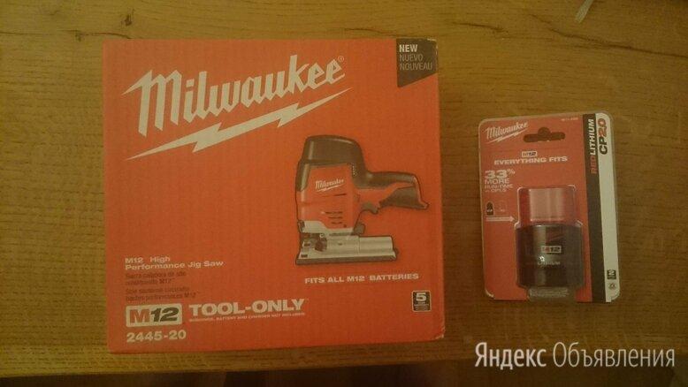 Лобзик аккумуляторный Milwaukee 2445-20 по цене 9900₽ - Лобзики, фото 0