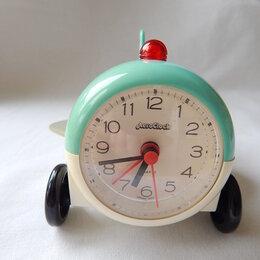 Часы настольные и каминные - Часы будильник Корейские авиалинии из 90-х, 0