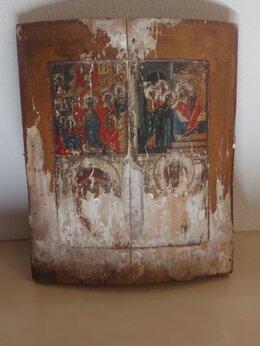 Иконы - Икона Воскресение Господне 19 век, 0