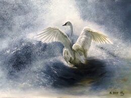 """Картины, постеры, гобелены, панно - картина маслом """"Лебедь. Надежда."""", 0"""