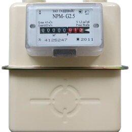 Счётчики газа - Счетчик газа NPM G2,5 Правый Газдевайс 2021г, 0