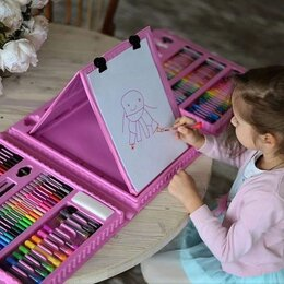 Рисование - Набор для рисования 208 предметов, 0