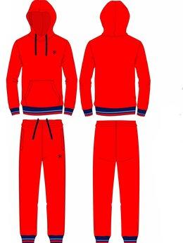 Спортивные костюмы и форма - Детские спортивные костюмы хлопковые красные…, 0