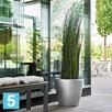 Напольное кашпо Lechuza Classico, черное 35-d, 33-h по цене 5790₽ - Горшки, подставки для цветов, фото 1