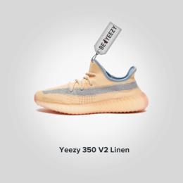 Кроссовки и кеды - Adidas Yeezy Boost 350 Linen (Адидас Изи Буст…, 0