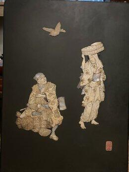Картины, постеры, гобелены, панно - японское панно авторское…, 0