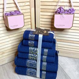 """Полотенца - Комплект из 6ти махровых полотенец """"Versace"""", 0"""