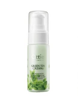 Увлажнение и питание - Увлажняющий крем для лица с зелёным чаем Ottie…, 0