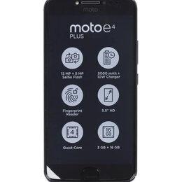 Мобильные телефоны - Motorola E4 Plus (XT1771) 3/16Gb, 0