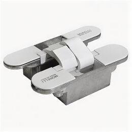 Петли дверные - Скрытые петли MORELLI HH-18 W/9011739, 0