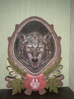 """Картины, постеры, гобелены, панно - Панно """"Волк"""", 0"""