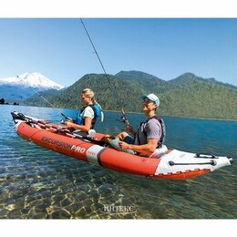 Аксессуары и комплектующие - Надувная байдарка Excursion Pro K2, INTEX - 68309, 0