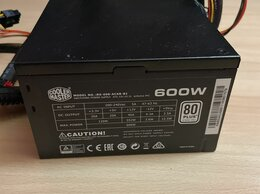Блоки питания - Блок питания cooler master 600w, 0