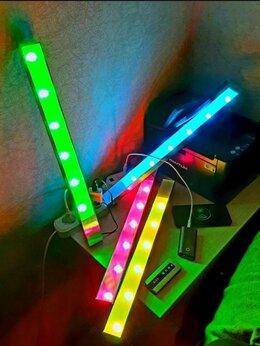 Фотовспышки - Цветная светодиодная лампа для фото и видео (2 шт), 0