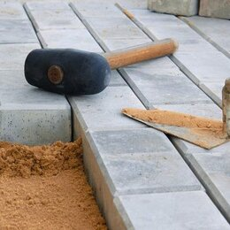 Каменщики - Рабочие по укладке тротуарной плитки Польша, 0