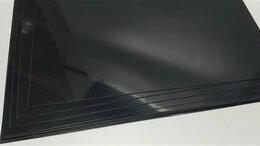 Поликарбонат - АБС пласти листовой 1мм черный 1*3м, 0