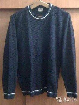 Свитеры и кардиганы - Продам свитер синий с белыми полосками, 0