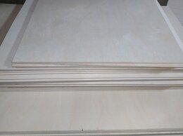 Древесно-плитные материалы - Фанера шлифованная сорт 1/2, 2/2 листами и в отрез, 0