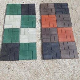 Садовые дорожки и покрытия - Плитка полимерпесчаная  250х250х20 330х330х22 стандарт , 0