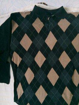 Свитеры и кардиганы - пуловер р  52 с  отложным воротничком  проходит…, 0