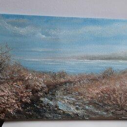 Картины, постеры, гобелены, панно - Картина маслом на холсте берег моря в Таганроге пленэр от Nataly_art_tag , 0