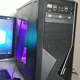 Настольные компьютеры - Мощный игровой компьютер С монитором, 0
