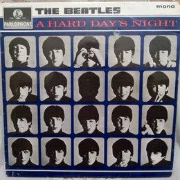 Виниловые пластинки - BEATLES  1964  A hard day's night, 0